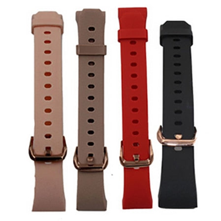 New Fashion Waterproof Color Screen Heart Rate Monitor Blood Pressure Smart Watch