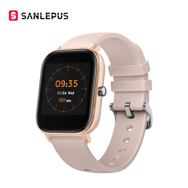 SANLEPUS Smart Watch Sport Heart Rate Monitor Waterproof