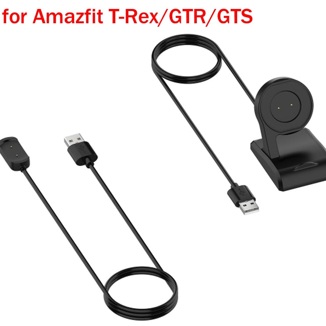 USB Charger Charging Dock Cradle Station For Amazfit T-Rex/GTR/GTS Smartwatch Chager Stand Replacement Accessories New
