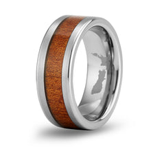 Load image into Gallery viewer, Ancient Kauri Classic Tungsten Ring - Brushed