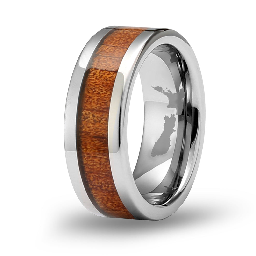 Ancient Kauri Classic Tungsten Ring