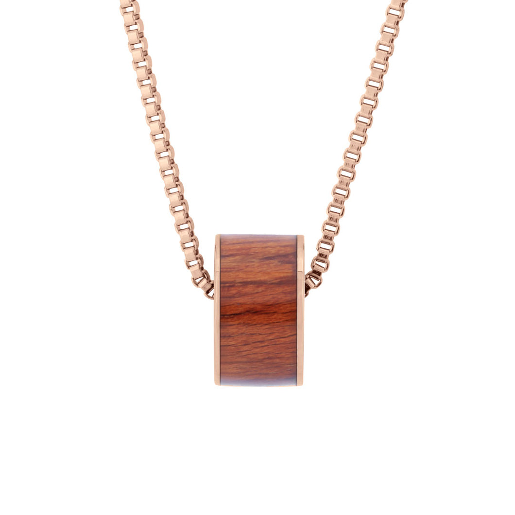 Koa Barrel Wide - Rose Gold