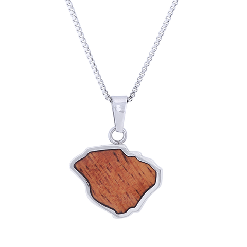 Kauai Hawaiian Necklace Koa Wood