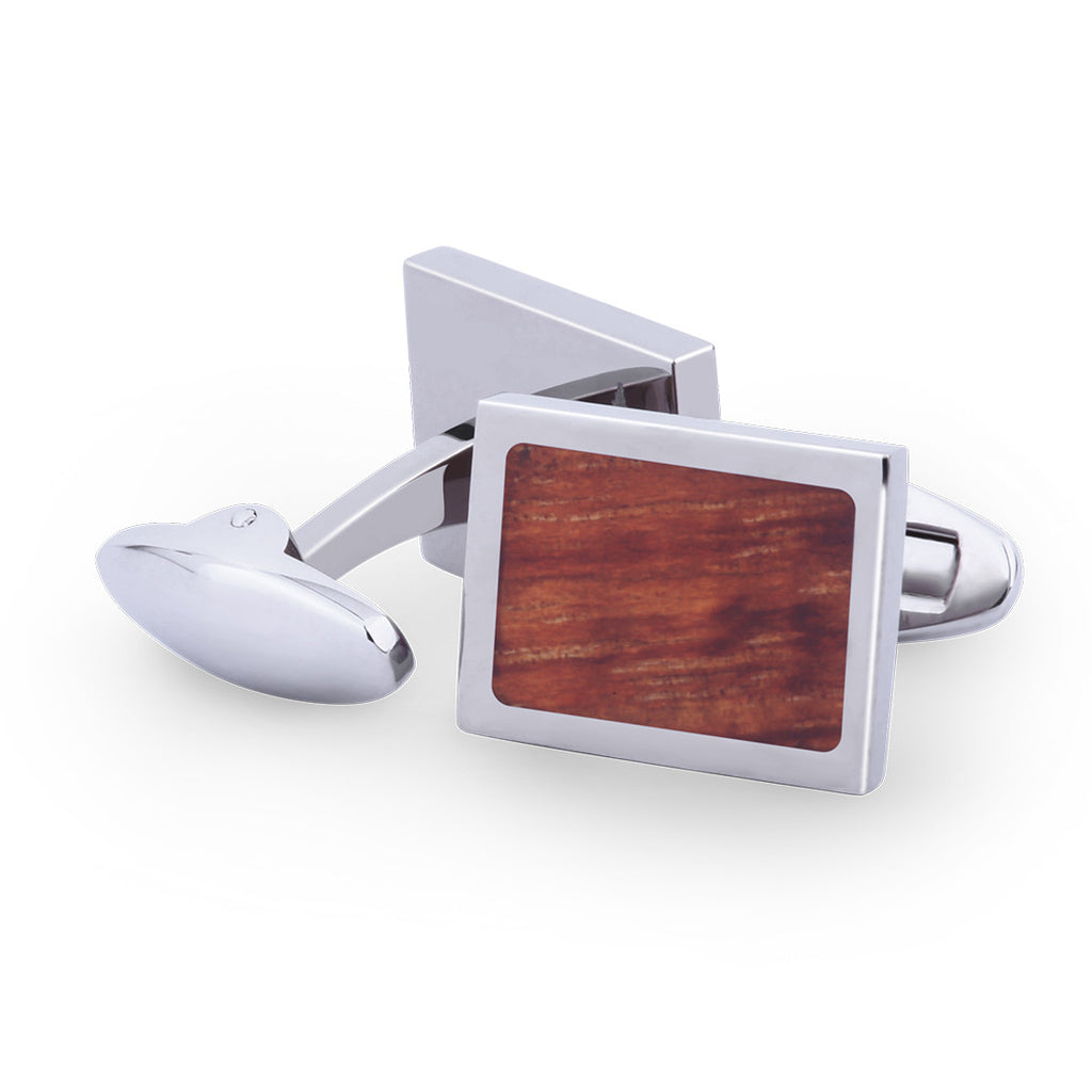 Hawaiian Koa Wooden Cufflinks