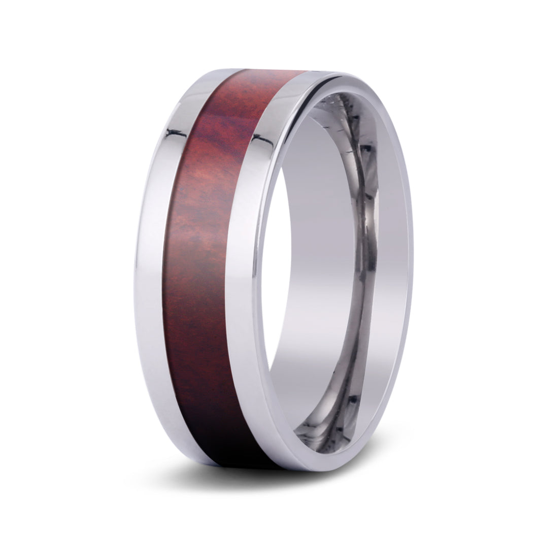 Redwood Classic Titanium Ring