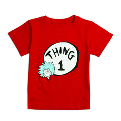 Dr. Seuss Short Sleeve Classic Tee - Thing 1