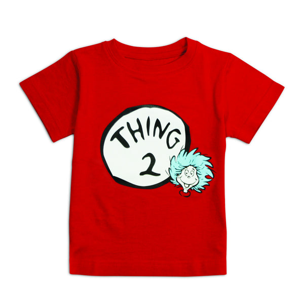 Dr. Seuss Short Sleeve Classic Tee - Thing 2