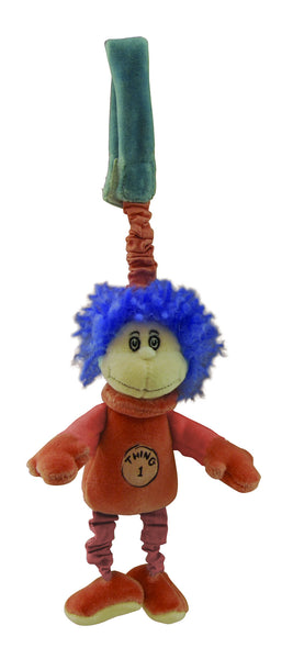 Dr. Seuss organic plush - Stroller Toy - Thing 1