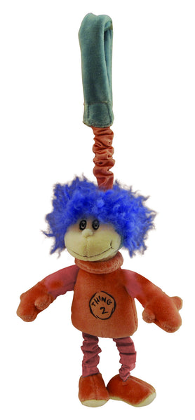 Dr. Seuss organic plush - Stroller Toy - Thing 2