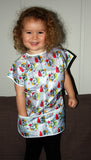 Grinch Short Sleeved Art Smock by Dr. Seuss