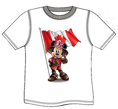 RCMP MINNIE MOUSE T-SHIRT - White