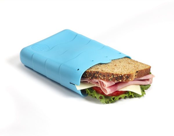 Kinderville - Sandwich Pouch - 1 pc blue large