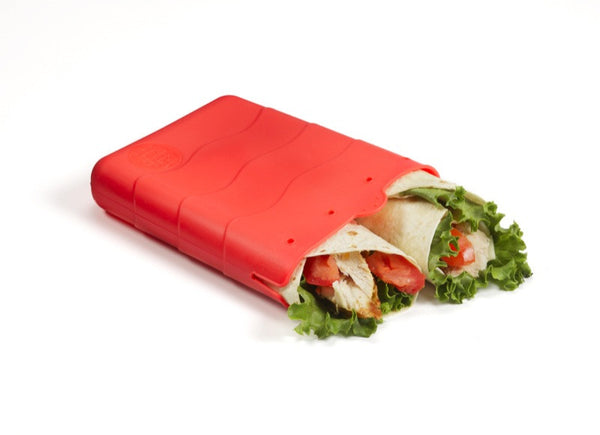 Kinderville - Sandwich Pouch - 1 pc red large
