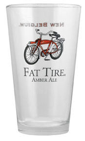 Fat Tire Pint Glass - Synaptic Cycles Shop