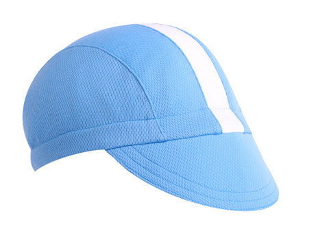 Moisture Wicking 3-Panel Cycling Cap - Synaptic Cycles Shop