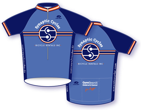 Synaptic Cycles Jersey for CureSearch - Synaptic Cycles Shop