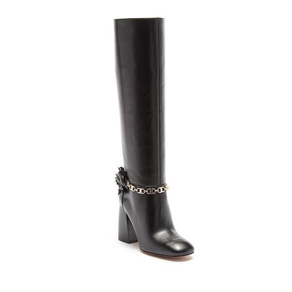 instylestreet.com Boots 35 Knee-high Blossom Leather Boot