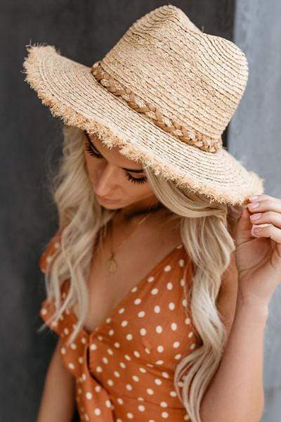 instylestreet.com Hat Tobacco Distressed Beach baby weaving straw hat