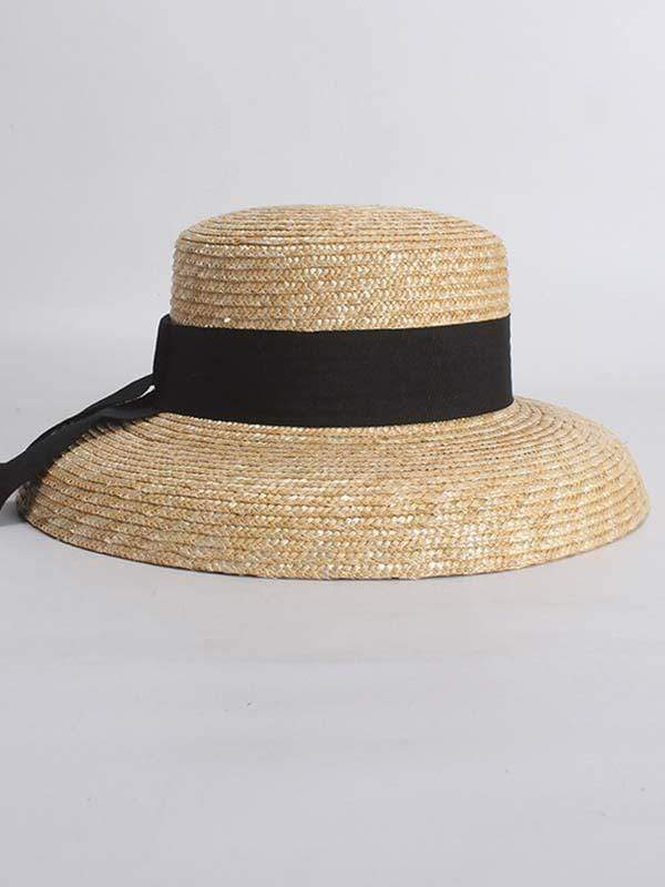 instylestreet.com hat Wheat Straw bell shaped straw hat