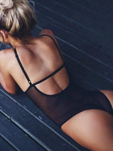 instylestreet.com Lingeries Black / S Sexy Lace Jumpsuits Underwear