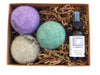 LooHoo Wool Dryer Balls Gift Box - Linen & Lavender