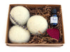 LooHoo Wool Dryer Balls Gift Box - Lavender & Oil