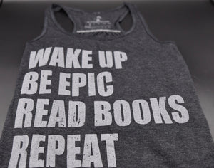 Be Epic & Read Books Women's Flowy Tank