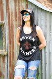 Seven Sinners Women's Flowy Tank Top