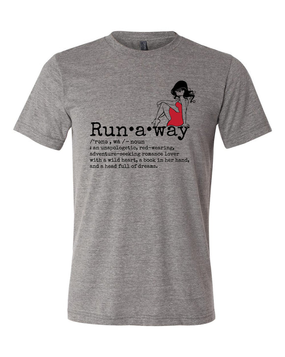 Runaway Definition T-shirt