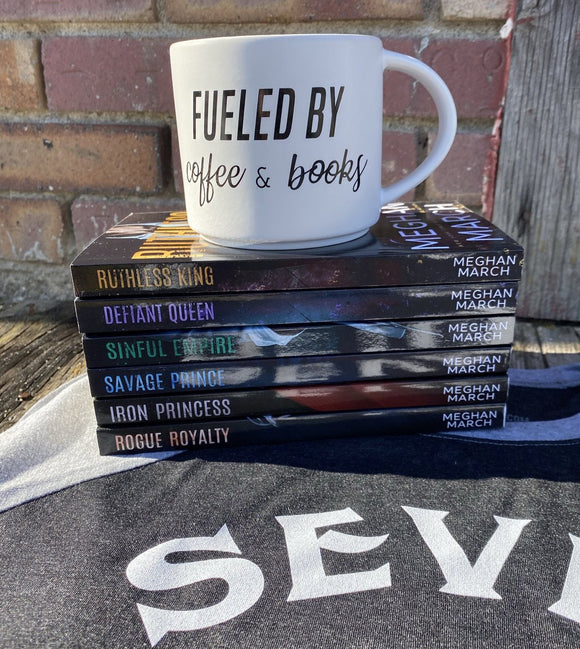 Fueled by Coffee and Books Mug
