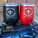 Seven Sinners insulated wine tumbler