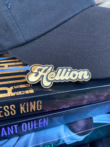 Hellion Gold Soft Enamel Pin