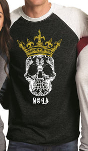 NOLA Voodoo Kings Baseball Tee
