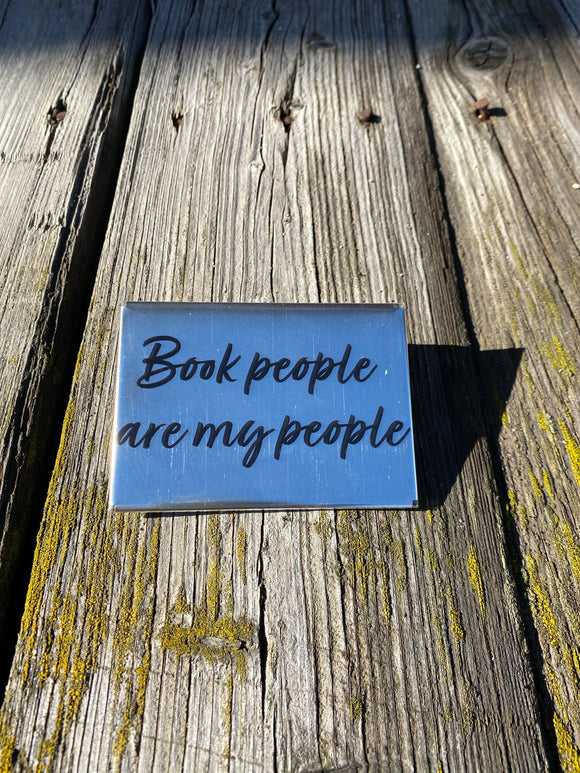 Book People Are My People magnet