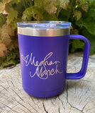Book Nerd Tumbler with Signature