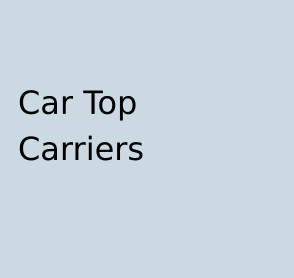 Car Top Carriers