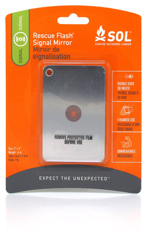 Adventure Medical: SOL Rescue Flash Mirror [Product ID: 0140-1003]