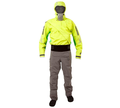 Kokatat: Drysuit; Odyssey with Hood and Relief Zipper; GoreTex; Men (Mantis)