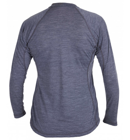 Kokatat: Wool Core LS Shirt Women (Charcoal)