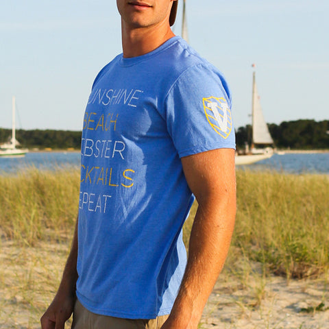 Men's Blue Agenda T-Shirt