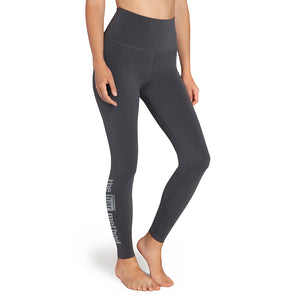 Bar Method x Beyond Yoga Plush Charcoal Leggings