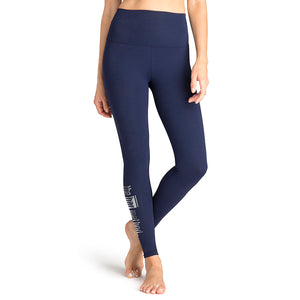 Bar Method x Beyond Yoga Navy Supplex