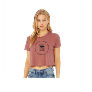 Bar Method Circle of Gratitude Cropped Tee