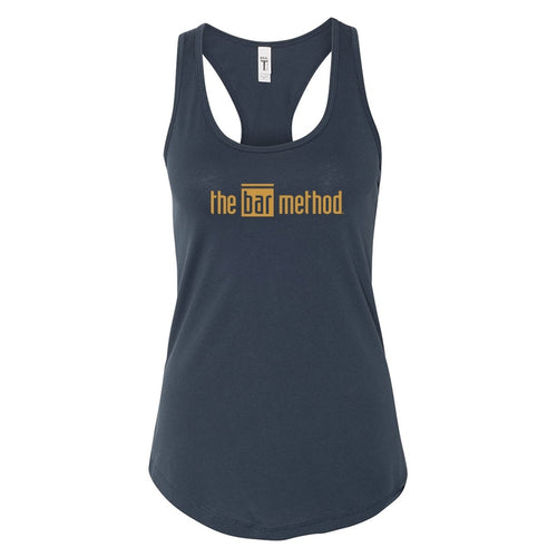 Bar method racerback - gold foil