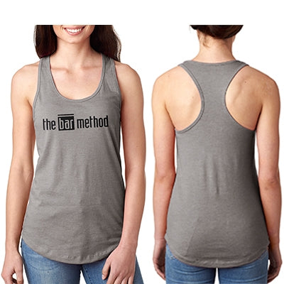 The bar method racerback tank