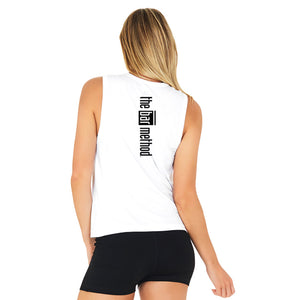 Boody White Muscle - Black Logo