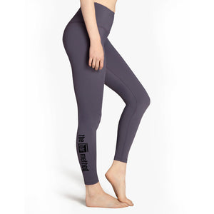 Bar Method x Beyond Yoga Deep Amethyst  Leggings