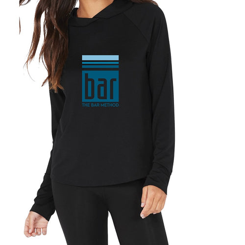 Bar Method X Boody Active Long Sleeve Hooded Tee