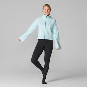 Tavi Bell Sleeve Zip Front – Powder