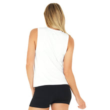 Load image into Gallery viewer, Bar Method x Boody Muscle Tank White